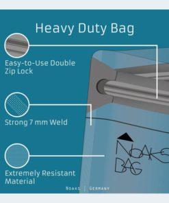 noaks bag schutzh lle zip beutel dry bag 100 wasserdicht geruchsdicht sicher we travel. Black Bedroom Furniture Sets. Home Design Ideas