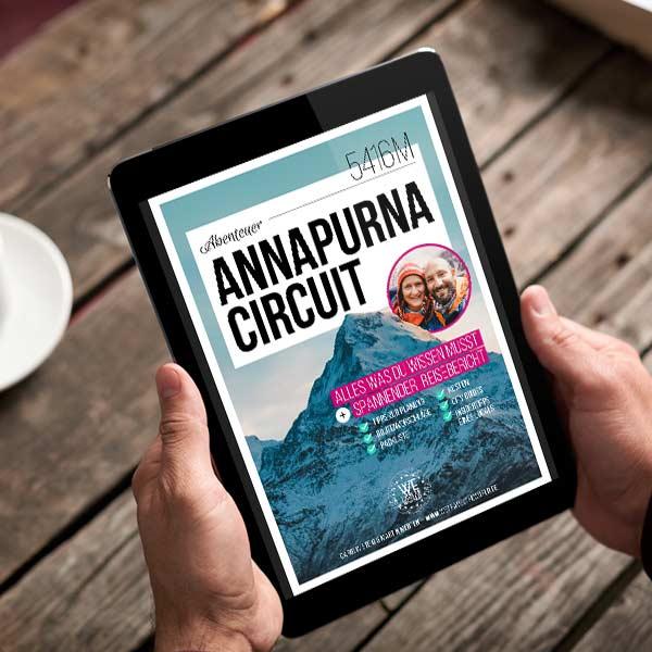 Annapurna Circuit Reiseführer Buch
