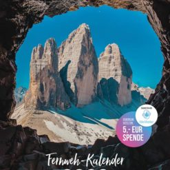 WE TRAVEL THE WORLD Fernweh-Kalender 2020